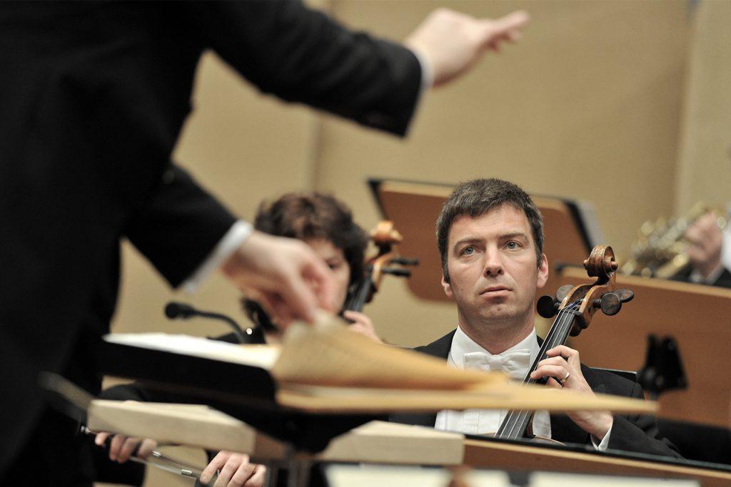 orchesterprobe - deutsche staatsphilharmonie rheinland pfalz